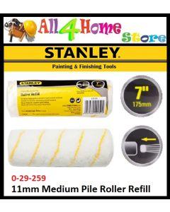 """11mm Medium Pile Roller Refill for 7"""" Cage Roller Frame (0-29-259)"""