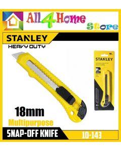 Stanley 10-143-S (10-143) Basic Snap-Off Cutter 18mm / PISAU REFILL CUTTER