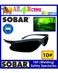 10# ~WELDING*BLACK 65023 SOBAR Pro-Choice Spectacles