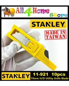 Stanley (11-921) 19mm Classic 1992 Heavy Duty Utility Blade Cutter Replacement 10pcs