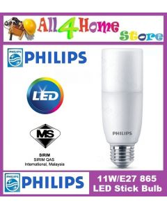11w/E27  (Cool Daylight) Philips LED Bulb Stick