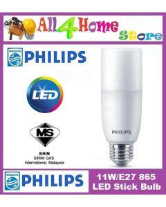 11w/E27  (Cool Daylight) Philips LED Bulb Stick