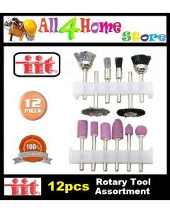 12pcs #80555 Rotary Tool Assortment