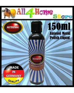 150ml AUTOSOL Metal Polish Liquid (MADE IN GERMANY)