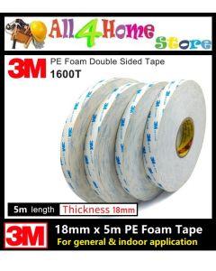 3M 1600T Double Coated Polyethylene Foam tape /Double Sided Tape