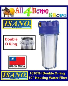 1610TH ISANO Double O-Ring Housing Water Filter (Made in Taiwan)