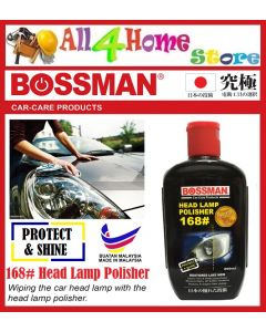 200ml Head Lamp Polisher 168# BOSSMAN Car-Care