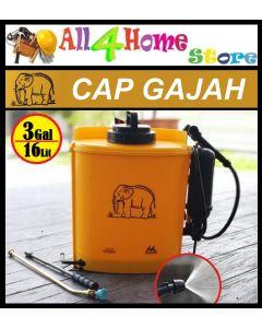 Cap Gajah 16Liter Plastic KnapSack Manual Sprayer