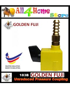 183B Golden Fuji Unreduced Pressure Coupling