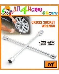 17x19x21x23 ECT Cross Rim Socket Wrench