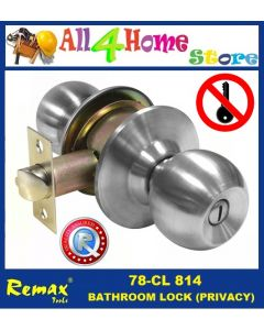 78- CL814 REMAX Bathroom Cylindrical Lock ( Privacy)