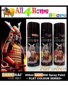 400ML SAMURAI Spray Paint - Flat Colour Series