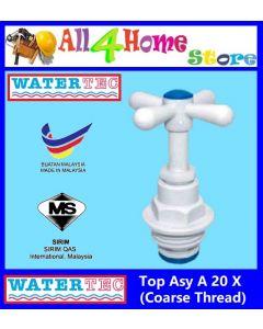 "WATERTEC Top Asy A 20 X (Coarse Thread) - 1"" / 3/4""  Stopcock"