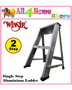 WINSIR 2 step Junior Single Sided Aluminium Ladder