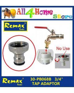 """30-PB068B REMAX 3/4"""" Tap Adaptor"""