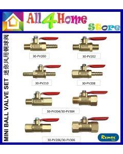 Brass Mini Ball Valve  Male Female Thread Hose Water Oil Air Gas Fuel Shutoff Pipe Valve Compressor Ball Valve