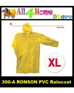 (XL) 300-A RONSON P.V.C Raincoat - YELLOW