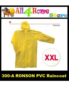 (XXL) 300-A RONSON P.V.C Raincoat - YELLOW