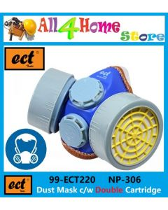 -NP306- ECT Dust Mask With Double Cartridge