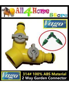 VAGO 2-Way Quick Water Hose Connector