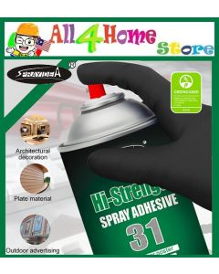 SPRAYIDEA 31 Hi-Strength Multi Purpose Spray Adhesive / Custom Headliner / Furniture / Wood / Acoustic Furnishing Spray Glue 600ml