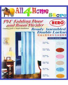 "33"" x 82"" ""HERO""  PVC Folding Door"