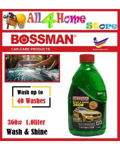 "1.0liter 360# Wash & Shine ""BOSSMAN"" Car-Care"