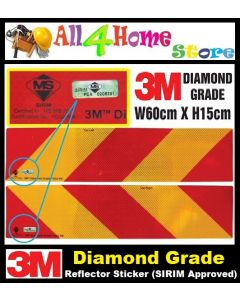 3M Diamond Grade Reflector Sticker (JPJ & SIRIM Approved)