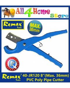 "40- JR120 8"" REMAX PVC Poly Pipe Cutter"