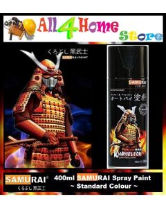 400ml SAMURAI Standard Colour Spray Paint