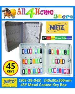 NIETZ Metal Key Box 45pcs Keys (505-28-045)