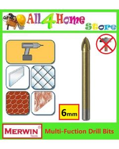MERWIN Carbide Tipped Glass & Tile Drill Bit