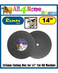 "14"" REMAX Cutting Wheel for 14"" Cut Off Machine"