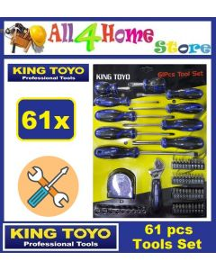 KINGTOYO 61Pcs Screwdriver Tools Set
