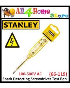 66-119 STANLEY Spark Detecting Screwdriver Test Pen (Yellow)