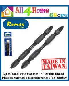 REMAX PH2 x 85mm +/+ Double Ended Phillips Magnetic Screwdriver Bit 68-SB850 (2pcs/card)