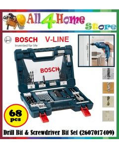 BOSCH V-Line 68PCS Drill Bit & Screwdriver Bit Set (2607017409)