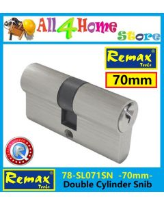 78-SL071SN REMAX 70mm Double Cylinder Snib (DOUBLE LOCK)
