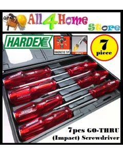 HARDEX ORIGINAL 7PCS GO-THRO (IMPACT) SCREWDRIVER SET