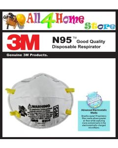 3M 8210 N95 Particulate Respirator Mask (20pcs/pack)