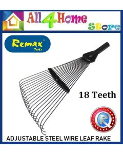 18Teeth Adjustable Steel Wire Leaf Rake Head only
