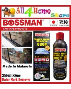"250ml Water Mark Remover 886# ""BOSSMAN"" Car Care"