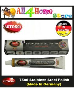 75ml AUTOSOL Stainless Steel Polish (Specialist for Chrome & S/steel)
