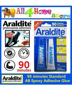 90minutes ARALDITE AB Epoxy Adhesive Glue Standard