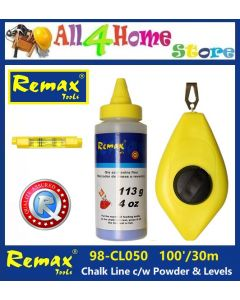 98-CL050 REMAX Chalk Line c/w Powder & Level