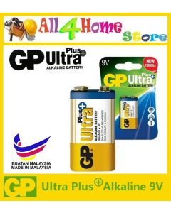 9V GP Ultra Plus Alkaline