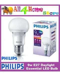 9W 865 (DAYLIGHT) Philips E27 Essential LED Bulb
