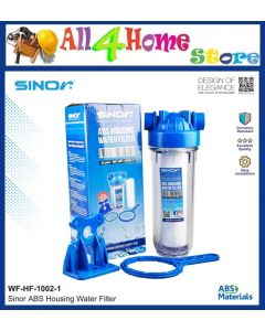 SINOR WF-HF-1002-1 ABS Housing Water Filter (Single)