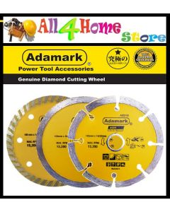 "4"" 100mm ADAMARK Diamond Cutting Wheel Disc"