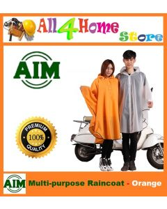 AIM Multi-Purpose Raincoat - ORANGE